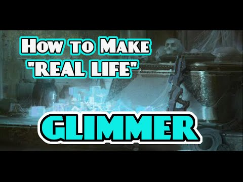 Destiny February 5 2016 How to Make REAL LIFE GLIMMER! Great for Destiny Cosplay!