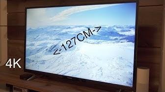 """Günstiger 50"""" 4K Fernseher mit SmartTV im Test! Telefunken XU50D401"""