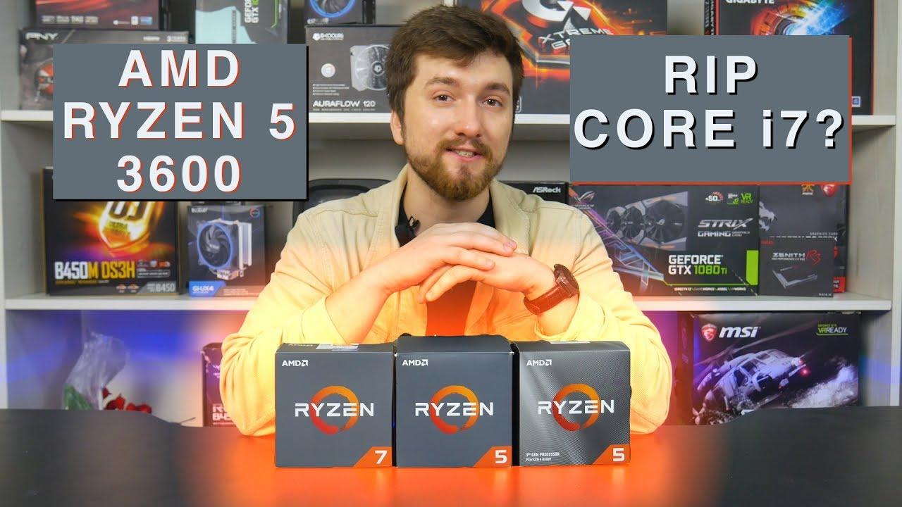 Обзор процессора AMD Ryzen 5 3600. Конкурентов нет?
