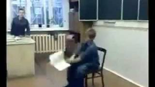 Kid Gets Hit by Backpacks OWNED