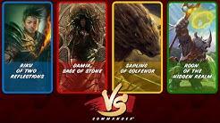 Commander VS S5E8: Riku vs Damia vs Roon vs Sapling