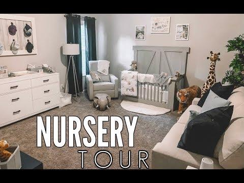 BABY BOY NURSERY TOUR! | Casey Holmes Vlogs