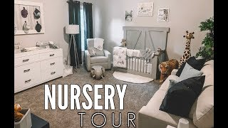 BABY BOY NURSERY TOUR! | Casey Holmes Vlogs