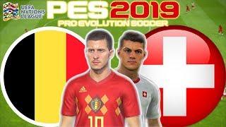 Belgium vs Switzerland Prediction | UEFA Nations League 12 Oct | PES 2019 Gameplay