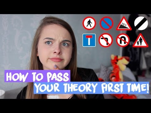 MY THEORY TEST EXPERIENCE + HOW TO PASS FIRST TIME!