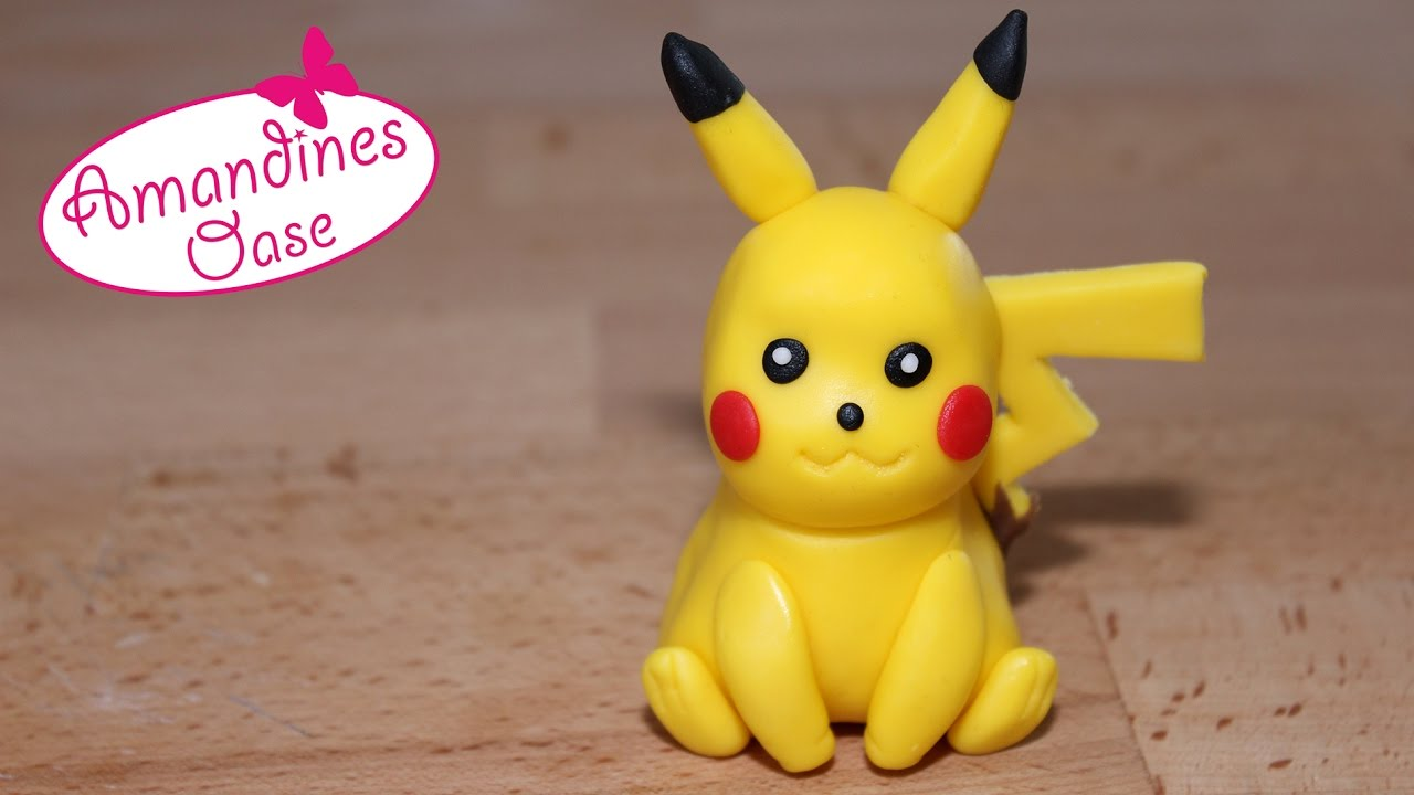 How To Make Pikachu Cake Topper
