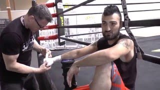 Vanes Martirosyan preps for Lara rematch at the SNAC Gym