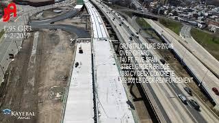 视频仍为詹姆斯J.Anderson建筑公司在I-95上执行广泛的任务数量