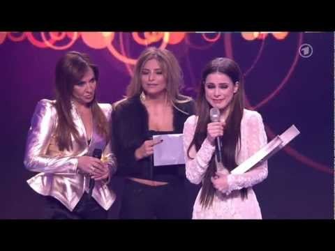 Lena Meyer-Landrut erhält den ECHO 2013 für das beste Video national