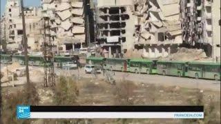الجيش السوري يدعو عبر مكبرات الصوت آخر المسلحين لمغادرة حلب الشرقية