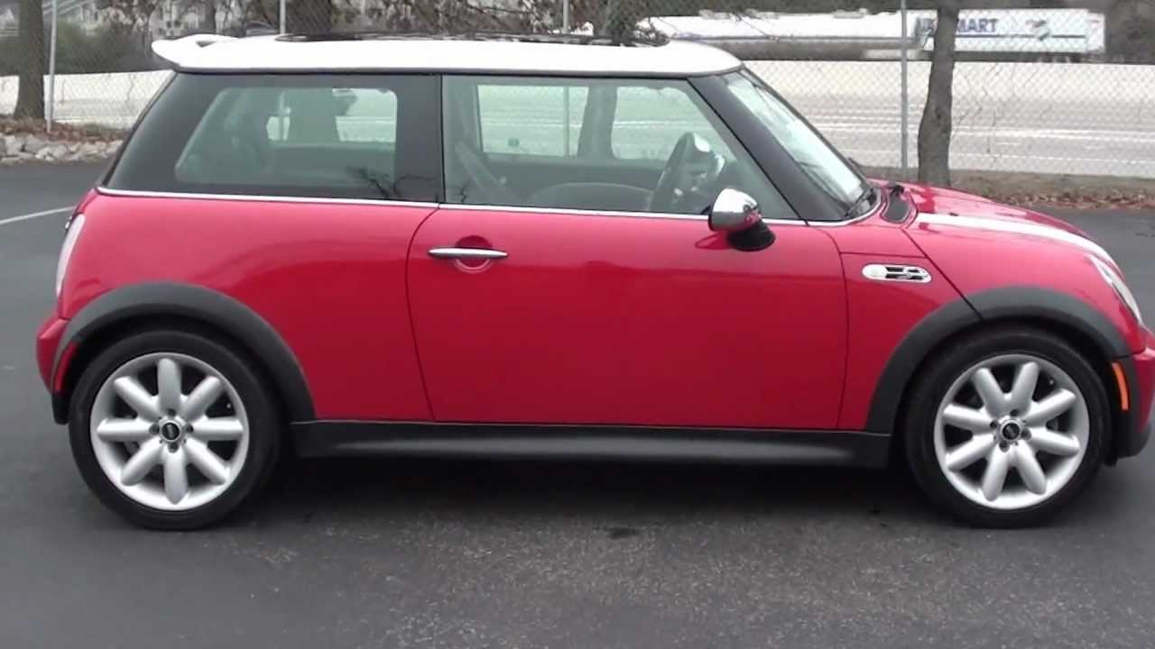 for sale 2004 mini cooper s fun 6 speed stk p6015. Black Bedroom Furniture Sets. Home Design Ideas