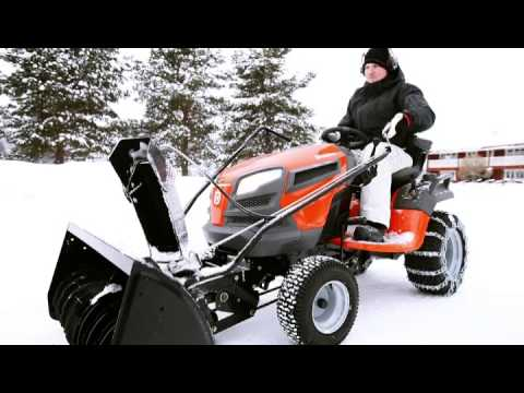 Husqvarna 42 Two Stage Snow Blower Tractor Mount Husqvarna