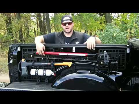 Ford F150 Navigation System >> BuiltRight Industries Bedside Rack System Overview - Ford ...