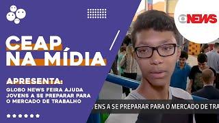 Globo News Feira ajuda jovens a se preparar para o mercado de trabalho