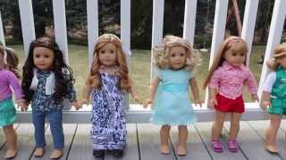 All of My American Girl Dolls!  Just Like You Dolls ~ Part 2! |Jane Smith|