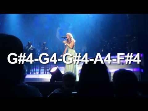 Celine Dion Vocal Showcase: The Reason (C#3-G5)