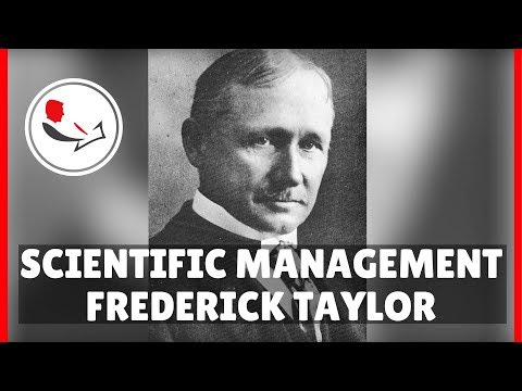 Frederick Taylor Scientific Management