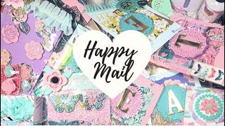 Incoming Spring Happy mail from @craftykimchi