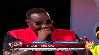 10 OVER 10 |K.O.B Lamaz drops bars on the ten