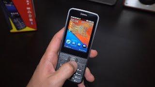 Красивый кнопочный телефон с полным приводом СИМ Карт