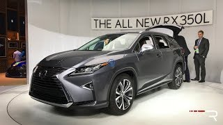 2018 Lexus RX350L – Redline: First Look – 2017 LAAS