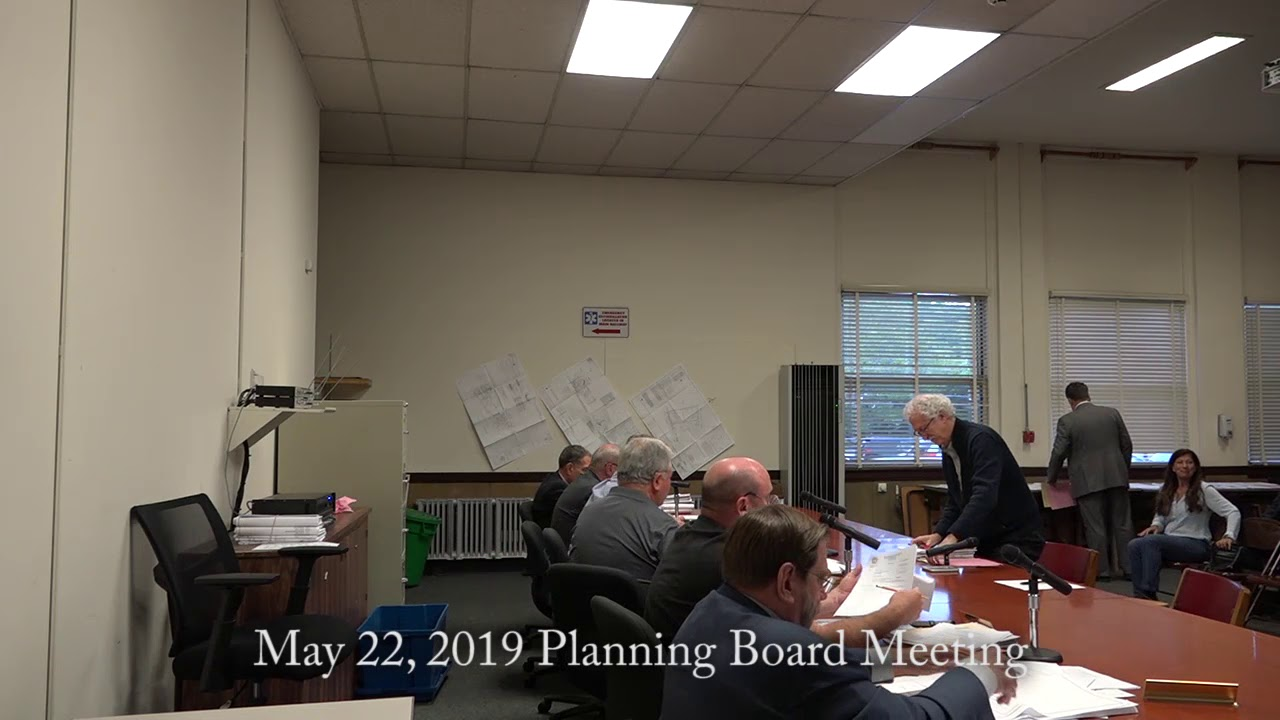 May 22, 2019 Planning Board | Town of Orangetown