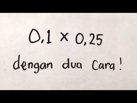 Perkalian Pecahan Desimal Dengan Dua Cara | Matematika SD