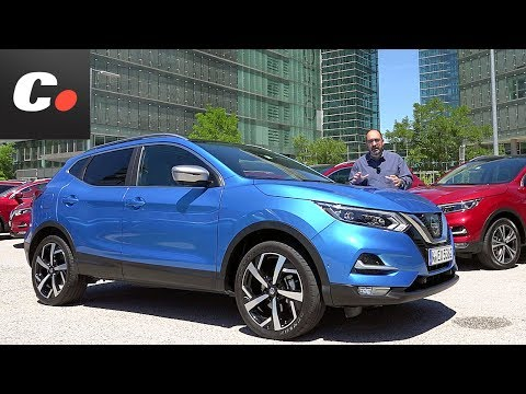 Nissan Qashqai y X Trail Rogue 2017 SUV Primera prueba Test Review en espaol Coches.net
