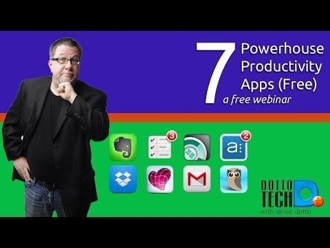 7 Free Apps Webinar