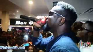 Sarkodie Performs @ The Mary Album launch & Autograph Signing