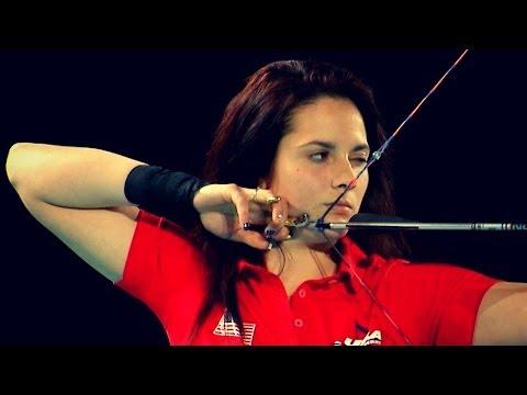 Junior Compound Women Team Gold - 2014 Indoor World Championships - Nimes (FRA)