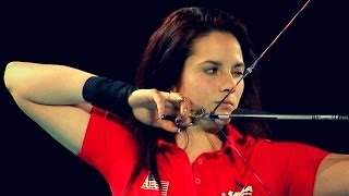 USA v Turkey – compound junior women's team gold final | Nimes 2014