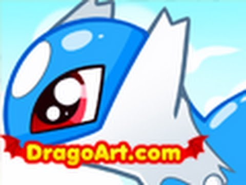 How To Draw Chibi Latios Step By