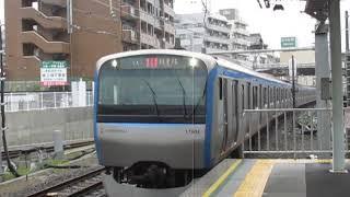 相鉄11000系11103F西谷駅通過