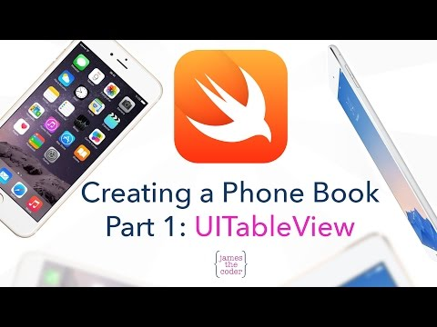 Creating a Phone Book Part 1: UITableView | Swift 2.0