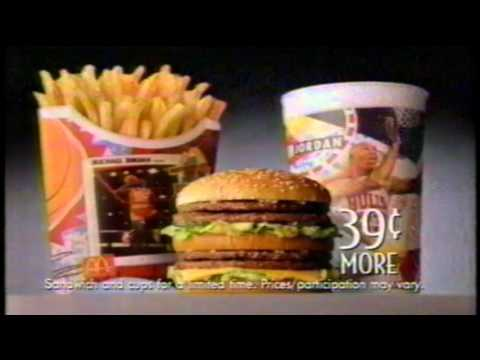 Charles Barkley Michael Jordan S House Double Big Mac Mcdonald S Tv Commercial Youtube