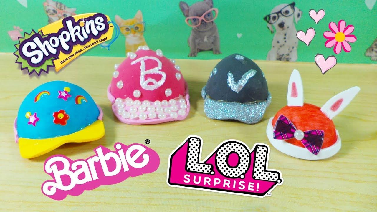 Gorrito Para Munecas L O L Surprise Barbie Y Mas Manualidades