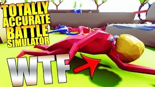 1000 VS 1000, TRUMP VS HILLARY - BIGGEST UPDATE EVER! - Totally Accurate Battle Simulator / TABS