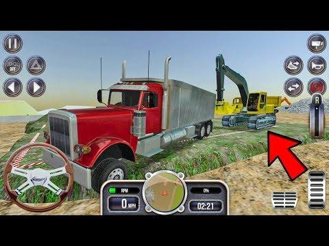 Construction Simulator #3 - Excavator Truck Games Android IOS gameplay