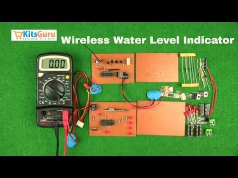 Wireless Water Level Indicator by KitsGuru.com | LGKT116 (ENGLISH)