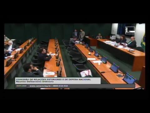 RELAÇÕES EXTERIORES E DE DEFESA NACIONAL - Reunião Deliberativa - 09/05/2018 - 10:29