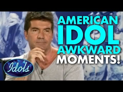 AWKWARD AMERICAN IDOL Classic Simon Cowell Auditions | Idols Global