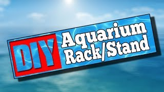 55 Gallon Double Aquarium Rack Stand #72