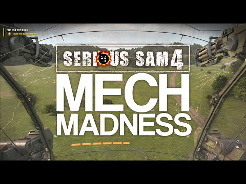 Serious Sam 4 - Mech Gameplay |