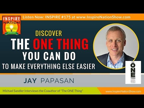 ★ Discover the ONE Thing to Make Your Life 100x's Easier | J