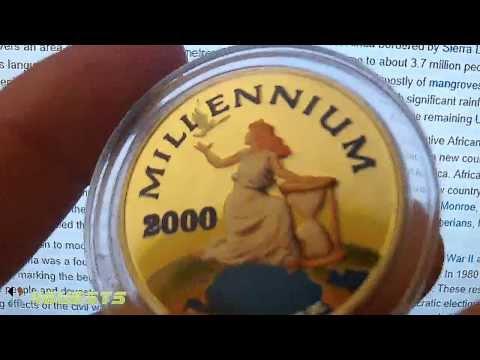 Liberian Girl?  2000 Millenium 1 Oz 999 Silver Coin