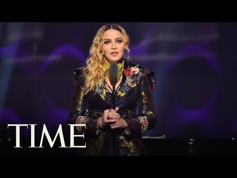 Madonna Delivers A Powerful Speech Blasting Sexism In The Music Industry: 'To Age Is a Sin' | TIME Mp3
