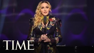 Madonna Delivers A Powerful Speech Blasting Sexism In The Music Industry: 'To Age Is a Sin' | TIME