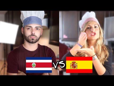 ESPAÑA VS COSTA RICA / TORTILLA ESPAÑOLA VS GALLO PINTO