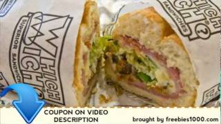 Which Wich Coupons - Free Printable Coupons(, 2012-01-30T02:52:22.000Z)